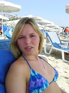 Girls Taking Selfie On Beach Pics